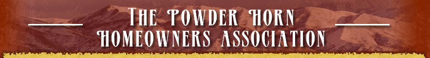 The Powder Horn Homeowners Association
